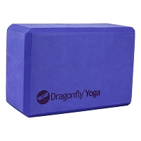 Dragonfly 10 cm Premium Foam Yoga Block