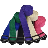 2.4 m Cinch Buckle Yoga Belt