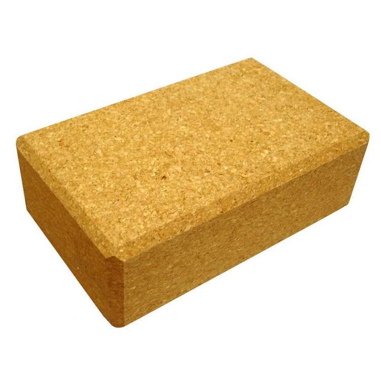 7 Cm Cork Yoga Brick Yoga Direct Uk