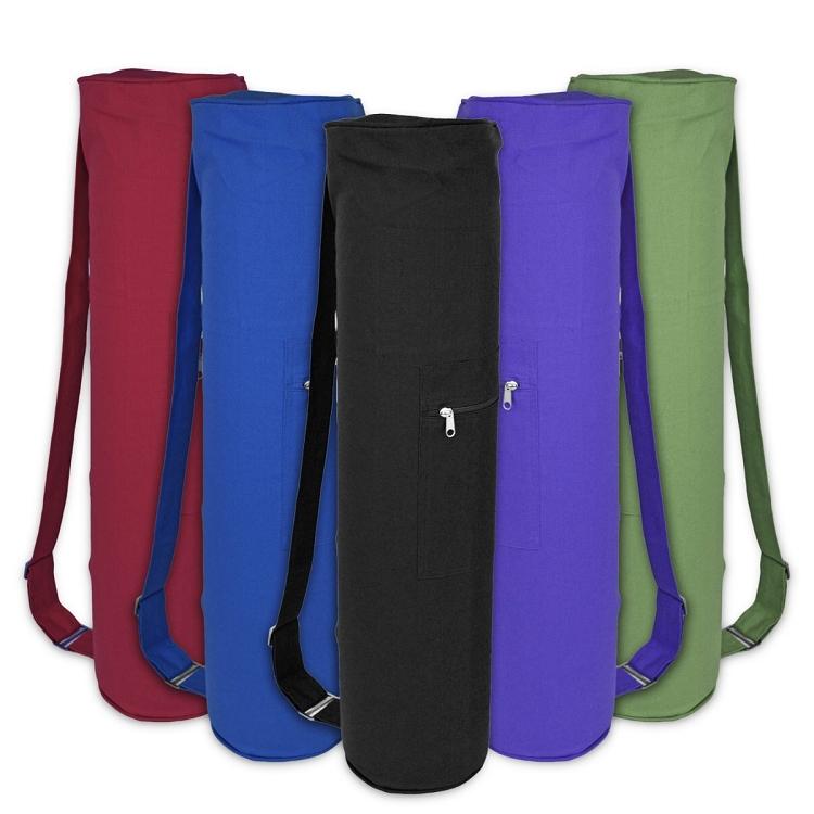 Cotton Zippered Yoga Mat Bag