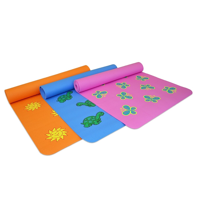 Fun Yoga Mat For Kids 6 Mm Yoga Direct