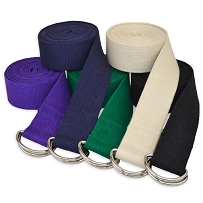 3 m D-Ring Buckle Yoga Belt