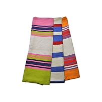 Colourful Cotton Yoga Blanket