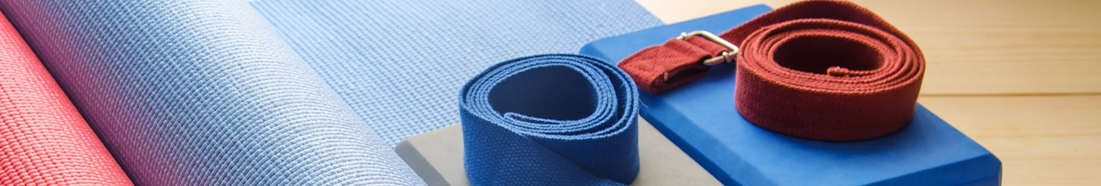 Yoga bricks, bolsters, belts and props at discount prices on Yoga Direct UK
