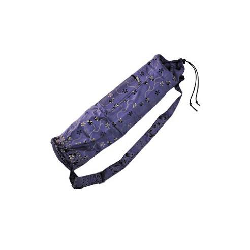 a729d19f56 Printed Silk Yoga Mat Bag