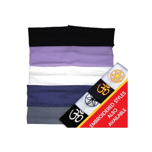 Yoga Headbands - 4 piece set