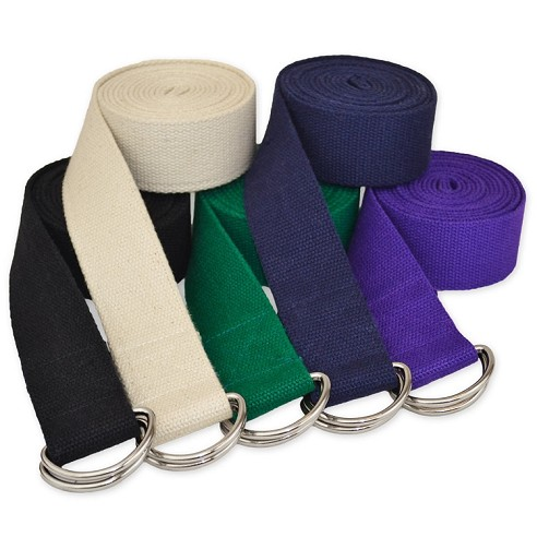 2.4 m D-Ring Buckle Yoga Belt